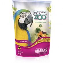 Megazoo Arara Frutas e Legumes 600g