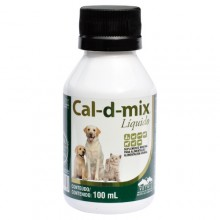 Cal-D-Mix - Cálcio Liquido - 100 ml