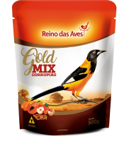 Reino Das Aves Currupião Gold Mix 500g